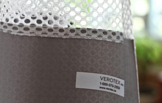 Divider curtains inventory management identification