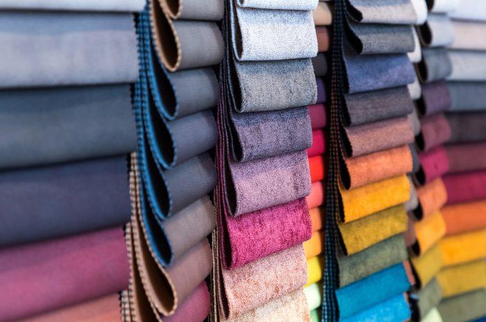 choix de textiles